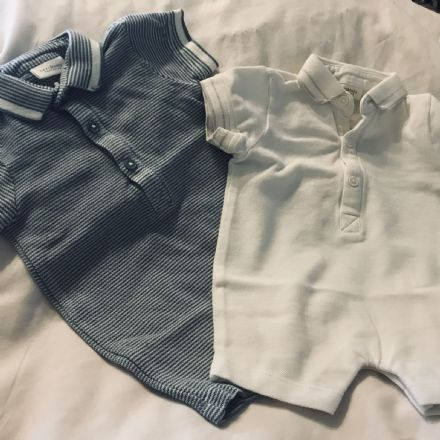 0-3 Month 2 Set Playsuit from Next